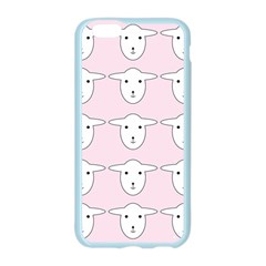 Sheep Wallpaper Pattern Pink Apple Seamless iPhone 6/6S Case (Color)