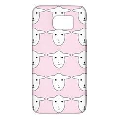 Sheep Wallpaper Pattern Pink Galaxy S6