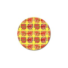 Funny Faces Golf Ball Marker (4 Pack)