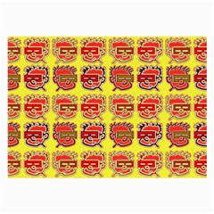 Funny Faces Large Glasses Cloth (2 Side)