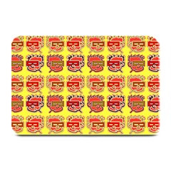 Funny Faces Plate Mats