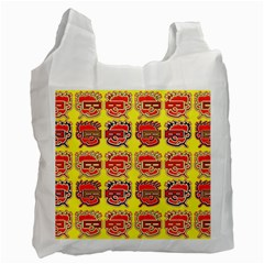 Funny Faces Recycle Bag (Two Side)
