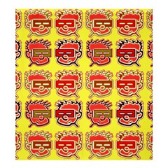 Funny Faces Shower Curtain 66  X 72  (large)