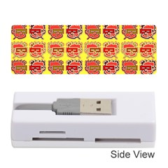 Funny Faces Memory Card Reader (stick)