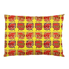 Funny Faces Pillow Case (two Sides)