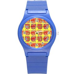 Funny Faces Round Plastic Sport Watch (s)