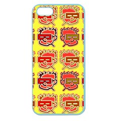 Funny Faces Apple Seamless Iphone 5 Case (color)