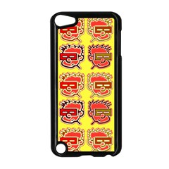 Funny Faces Apple Ipod Touch 5 Case (black)