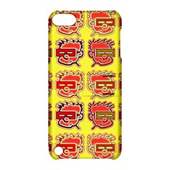 Funny Faces Apple Ipod Touch 5 Hardshell Case With Stand