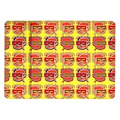 Funny Faces Samsung Galaxy Tab 10 1  P7500 Flip Case