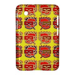 Funny Faces Samsung Galaxy Tab 2 (7 ) P3100 Hardshell Case
