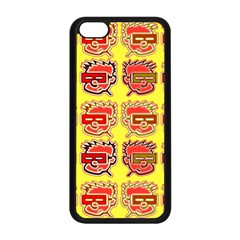 Funny Faces Apple Iphone 5c Seamless Case (black)