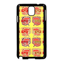 Funny Faces Samsung Galaxy Note 3 Neo Hardshell Case (black)