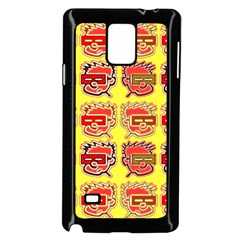 Funny Faces Samsung Galaxy Note 4 Case (black)