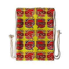 Funny Faces Drawstring Bag (small)