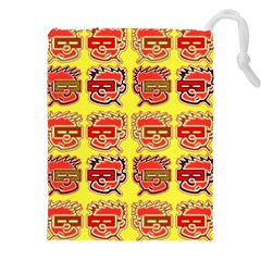 Funny Faces Drawstring Pouches (xxl)