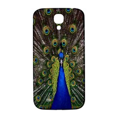 Bird Peacock Display Full Elegant Plumage Samsung Galaxy S4 I9500/i9505  Hardshell Back Case
