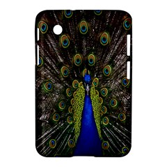 Bird Peacock Display Full Elegant Plumage Samsung Galaxy Tab 2 (7 ) P3100 Hardshell Case