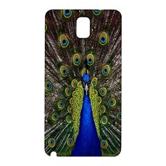 Bird Peacock Display Full Elegant Plumage Samsung Galaxy Note 3 N9005 Hardshell Back Case