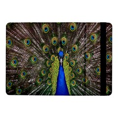 Bird Peacock Display Full Elegant Plumage Samsung Galaxy Tab Pro 10 1  Flip Case