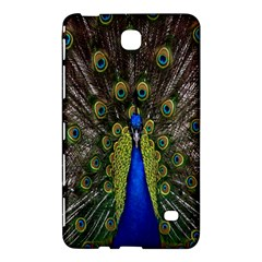 Bird Peacock Display Full Elegant Plumage Samsung Galaxy Tab 4 (7 ) Hardshell Case
