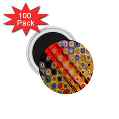 Background Texture Pattern 1 75  Magnets (100 Pack)
