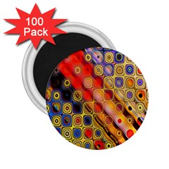 Background Texture Pattern 2.25  Magnets (100 pack)