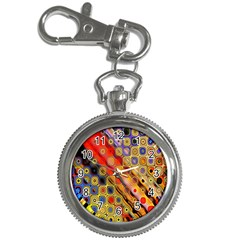 Background Texture Pattern Key Chain Watches