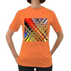 Background Texture Pattern Women s Dark T Shirt
