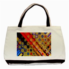 Background Texture Pattern Basic Tote Bag (Two Sides)