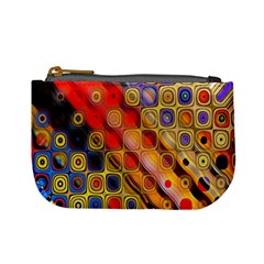 Background Texture Pattern Mini Coin Purses