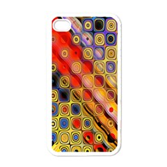 Background Texture Pattern Apple Iphone 4 Case (white)