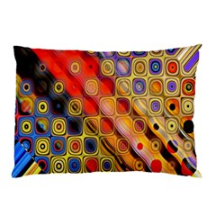 Background Texture Pattern Pillow Case (two Sides)