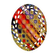 Background Texture Pattern Ornament (oval Filigree)