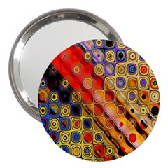 Background Texture Pattern 3  Handbag Mirrors