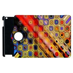 Background Texture Pattern Apple Ipad 3/4 Flip 360 Case