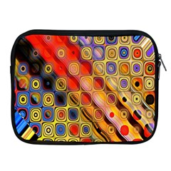Background Texture Pattern Apple Ipad 2/3/4 Zipper Cases