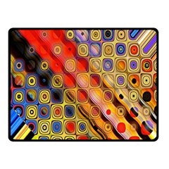 Background Texture Pattern Double Sided Fleece Blanket (small)