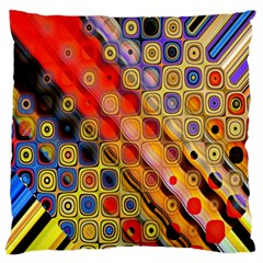 Background Texture Pattern Large Flano Cushion Case (two Sides)
