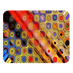 Background Texture Pattern Double Sided Flano Blanket (large)