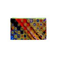 Background Texture Pattern Cosmetic Bag (xs)
