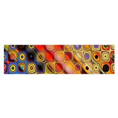 Background Texture Pattern Satin Scarf (oblong)