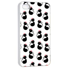 Cat Seamless Animal Pattern Apple Iphone 4/4s Seamless Case (white)