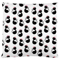 Cat Seamless Animal Pattern Large Cushion Case (one Side)