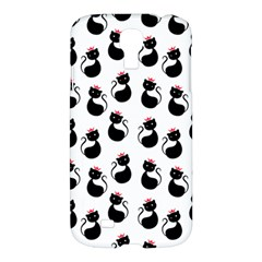 Cat Seamless Animal Pattern Samsung Galaxy S4 I9500/i9505 Hardshell Case
