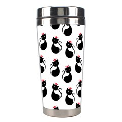 Cat Seamless Animal Pattern Stainless Steel Travel Tumblers