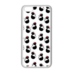 Cat Seamless Animal Pattern Apple Iphone 5c Seamless Case (white)
