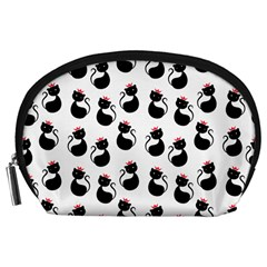 Cat Seamless Animal Pattern Accessory Pouches (large)