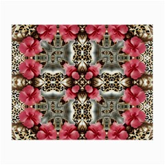Flowers Fabric Small Glasses Cloth