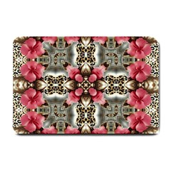 Flowers Fabric Small Doormat